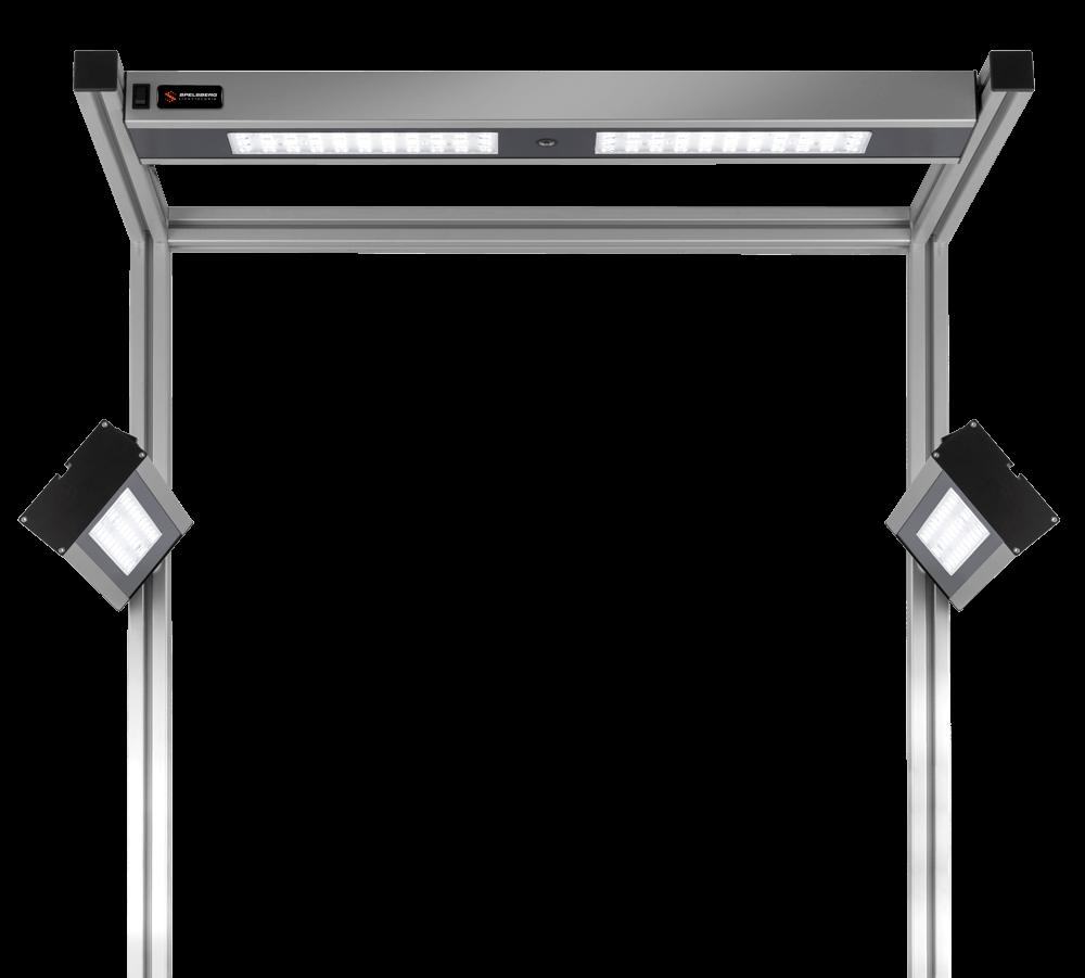Spelsberg LED-Arbeitsplatzbeleuchtung 60° LED-Optik