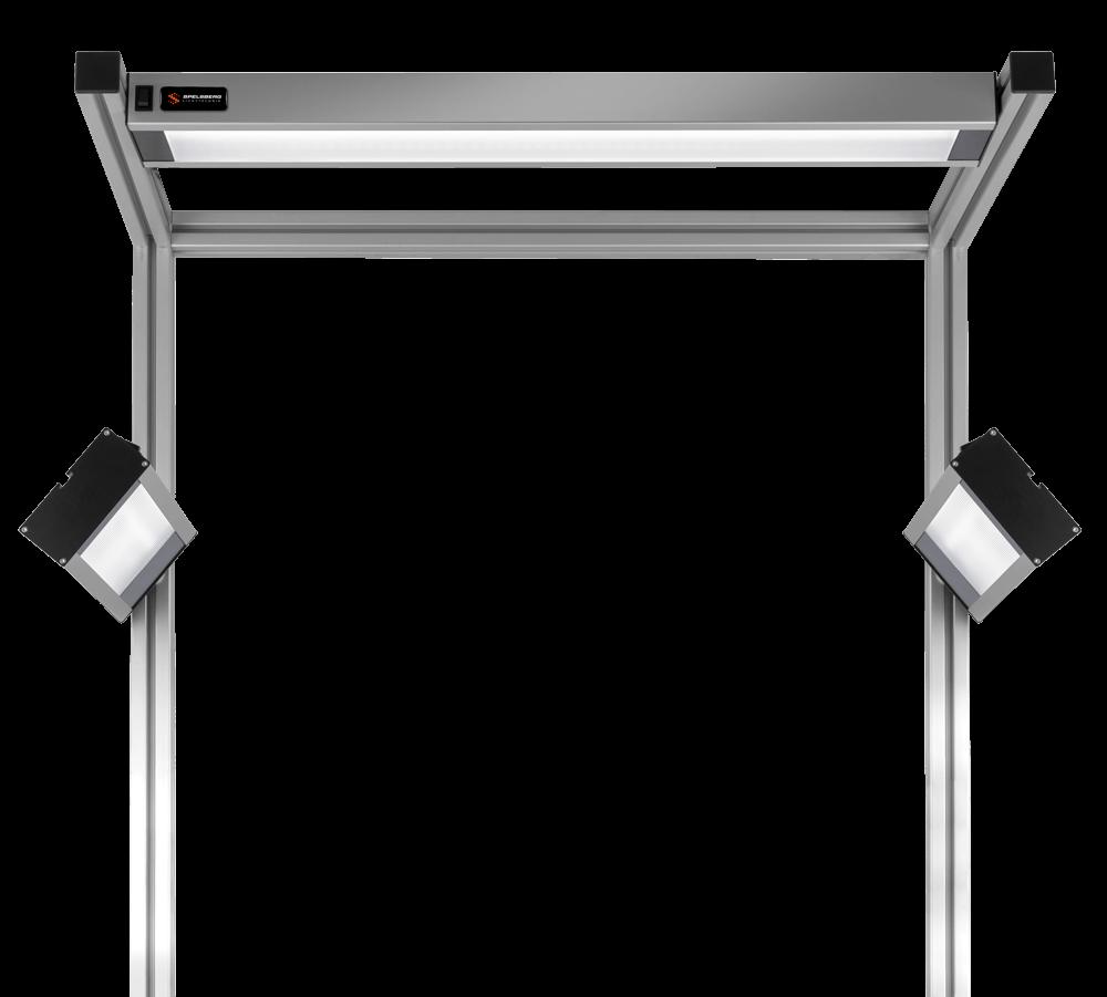 Spelsberg LED-Arbeitsplatzbeleuchtung Mikroprismenscheibe